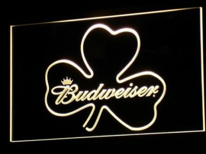 Budweiser Shamrock neon sign LED