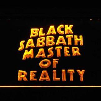 Black Sabbath Master of Reality neon sign LED