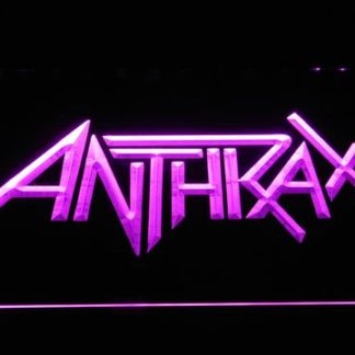 Anthrax neon sign LED