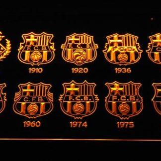 FC Barcelona neon sign LED