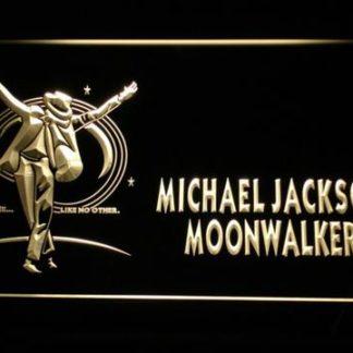 Michael Jackson Moonwalker neon sign LED
