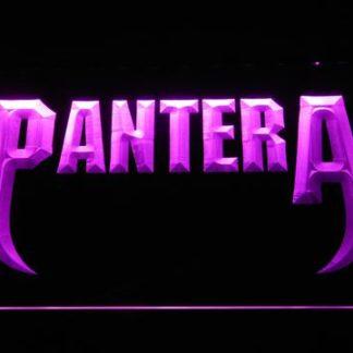 Pantera Fangs neon sign LED