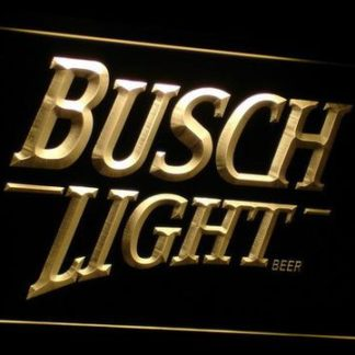 Busch Light neon sign LED