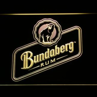 Bundaberg Rum neon sign LED