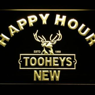 Tooheys Happy Hour neon sign LED