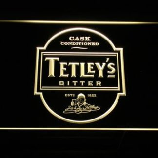Tetley's Bitter neon sign LED