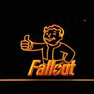 Fallout Vault Boy neon sign LED