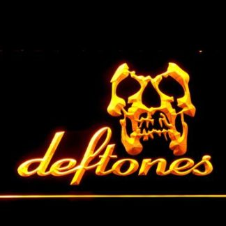 Deftones Skull neon sign LED