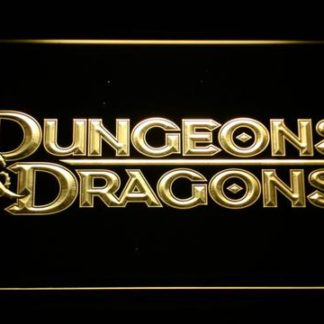 Dungeons & Dragons neon sign LED