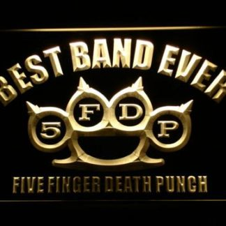 Five Finger Death Punch Best Band Ever neon sign LED