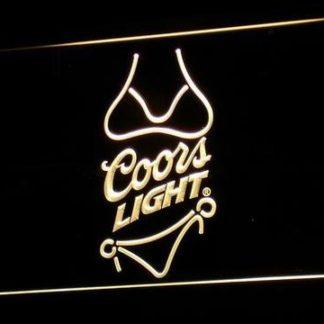 Coors Light - Bikini neon sign LED