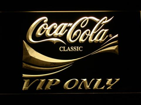 Coca-Cola VIP Only neon sign LED