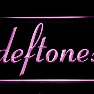 Deftones neon sign LED