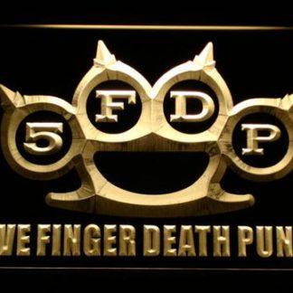 Five Finger Death Punch neon sign LED