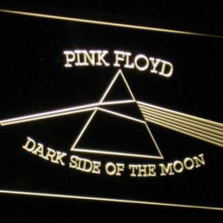 Pink Floyd Dark Side of the Moon Triangle neon sign LED
