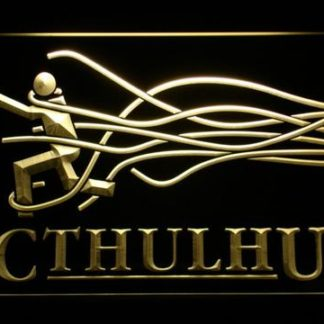 Cthulhu neon sign LED