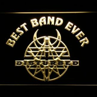 Disturbed Best Band Ever neon sign LED