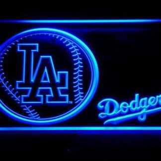 Los Angeles Dodgers Baseball neon sign LED