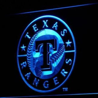 Texas Rangers neon sign LED