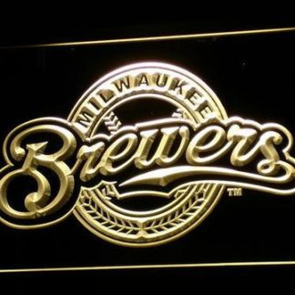 Milwaukee Brewers neon sign LED