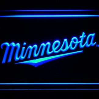 Minnesota Twins 3 neon sign LED
