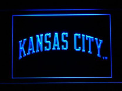 Kansas City Royals 2002-2005 Text - Legacy Edition neon sign LED