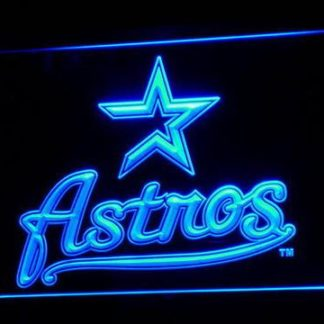 Houston Astros 2000-2012 Logo - Legacy Edition neon sign LED