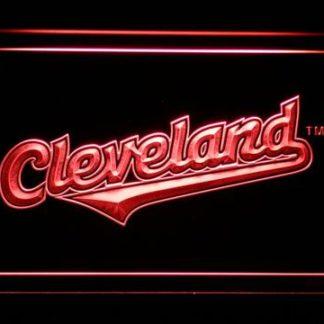 Cleveland Indians 2008-2010 Logo - Legacy Edition neon sign LED