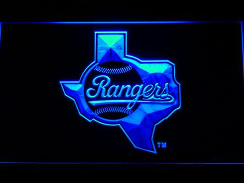 Texas Rangers 1984-1993 - Legacy Edition neon sign LED