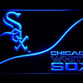 Chicago White Sox Split neon sign LED