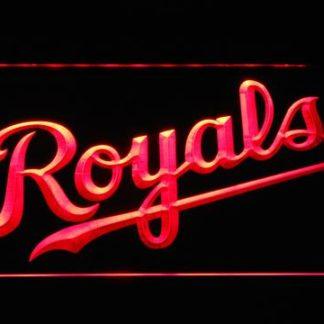 Kansas City Royals Wordmark neon sign LED