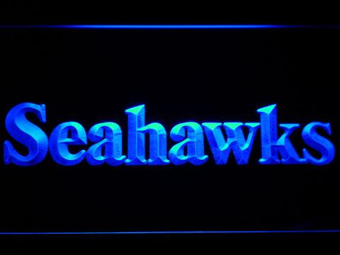 Seattle Seahawks 1976-2001 Text - Legacy Edition neon sign LED