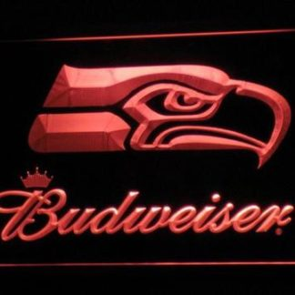 Seattle Seahawks Budweiser neon sign LED