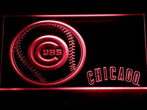 Chicago Cubs Baseball neon sign LED