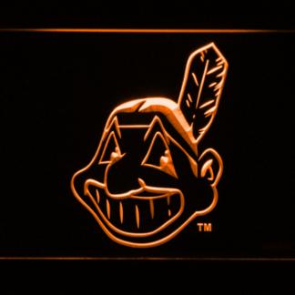 Cleveland Indians Logo neon sign LED