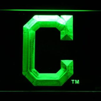 Cleveland Indians C neon sign LED