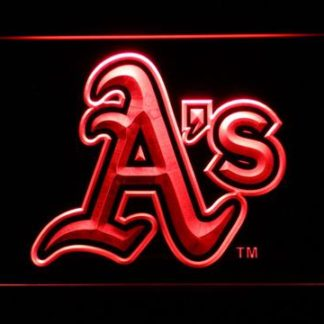 Oakland Athletics A's Logo neon sign LED