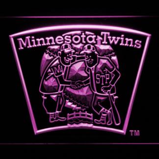 Minnesota Twins 4 neon sign LED