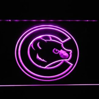 Chicago Cubs Cub Head neon sign LED