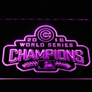 Chicago Cubs World Series Champions - Legacy Edition neon sign LED