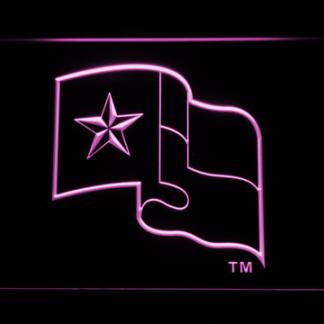 Texas Rangers Flag neon sign LED