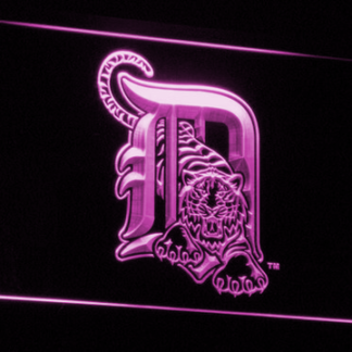 Detroit Tigers 1 neon sign LED