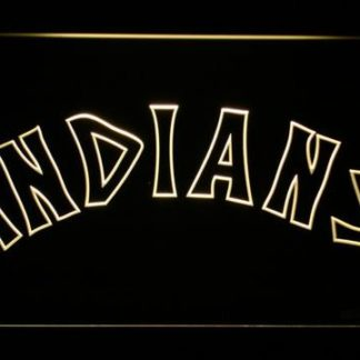 Cleveland Indians 1975-1977 - Legacy Edition neon sign LED