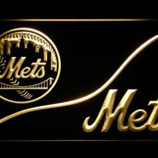 New York Mets Split neon sign LED