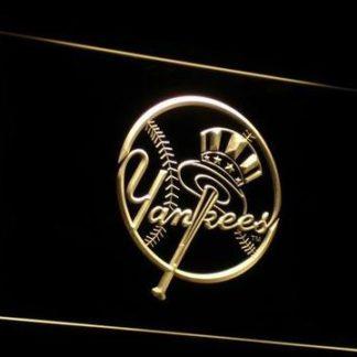 New York Yankees 1 neon sign LED