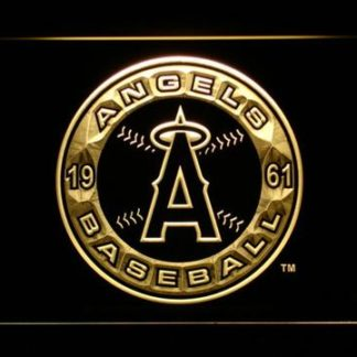 Los Angeles Angels of Anaheim Patch neon sign LED
