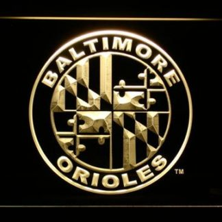 Baltimore Orioles 6 neon sign LED