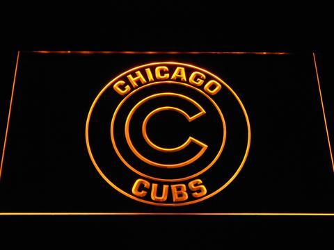 Chicago Cubs Big C neon sign LED