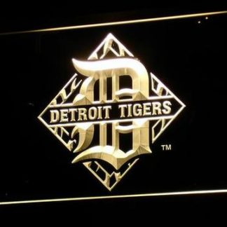 Detroit Tigers 4 neon sign LED
