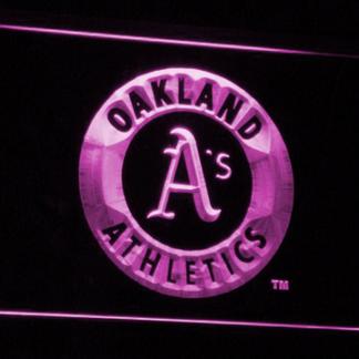 Oakland Athletics neon sign LED